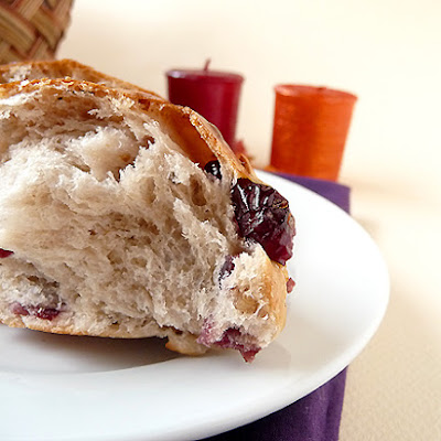 Cranberry and Walnut Rolls