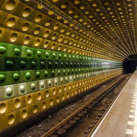 U-BaHN by Peter Buck - Transportation Trains