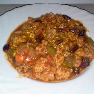 Healthy Hearty Turkey Breast Chilli