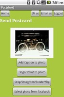Screenshot of Postcards, Mugs, Calendars...