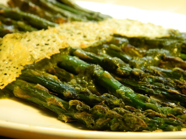 Baked Asparagus With Parmesan And Balsamic Vinegar Recipes ...