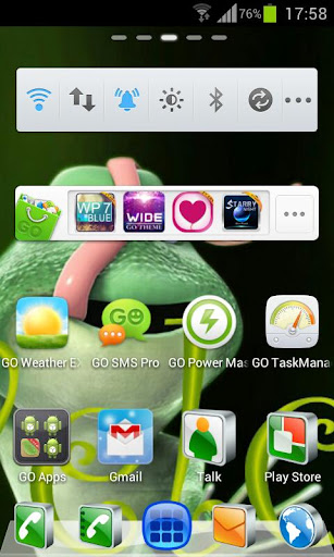 Crazy Frog HD Theme