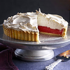 Cranberry & Orange Meringue Pie