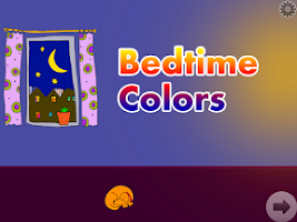 Screenshot of Bedtime Colors HD