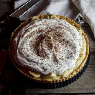 Banana Cream Pie made from scratch
