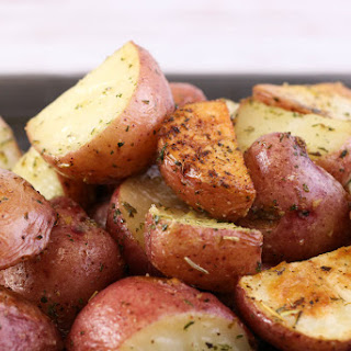 World's Easiest Roasted Potatoes