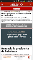 Screenshot of Milenio