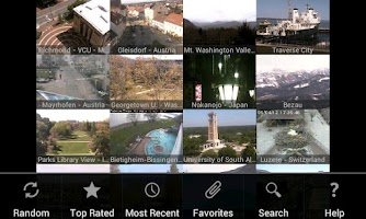 Screenshot of iSpy Cameras