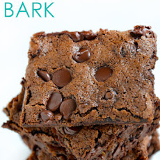 Chewy Chocolate Brownie Bark