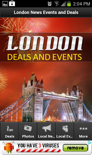 London Deals and Events