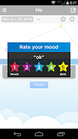 Screenshot of Moodtrack Diary: Mood Tracker