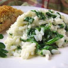 Spinach and Rice Alfredo