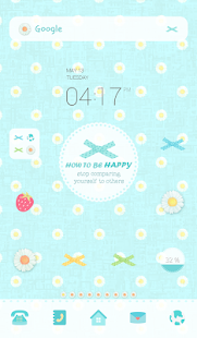 how to be happy dodol theme - screenshot