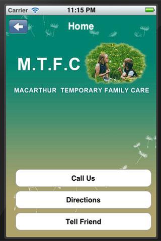 Macarthur Temporary Family Car