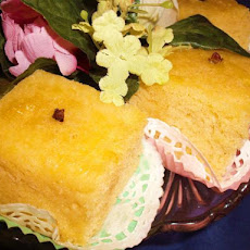Pantespani - Greek Sponge Cake With Orange