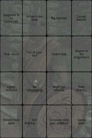 Skyrim Guard Soundboard