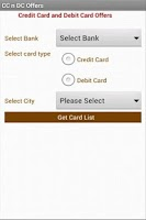 Screenshot of Credit Card Reward Offers