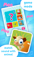 Screenshot of Baby Sounds Game