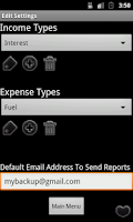 Screenshot of Easy Expense Finance Manager
