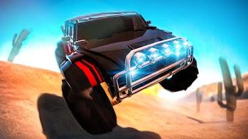 Screenshot of 4x4 Offroad Desert 3D