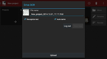 Screenshot of Droid Scan Pro PDF