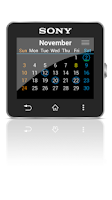 Screenshot of Calendar for SmartWatch 2