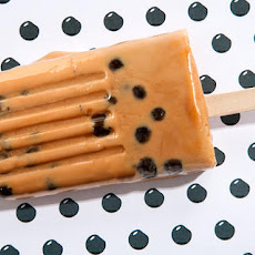 Milk Tea with Tapioca Pearl Ice Pops