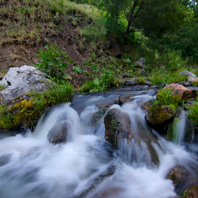 Creek by Cody Hoagland - Landscapes Waterscapes ( creek )