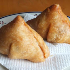 Potato and Coriander Samosas