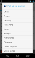 Screenshot of Tigervpns Android VPN