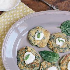 Swiss Chard and Ricotta Cakes