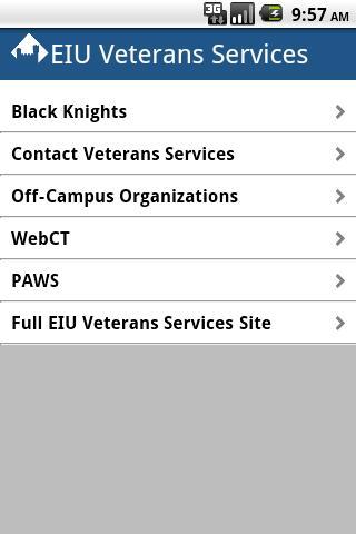 EIU Veterans
