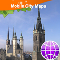 Halle Street Map icon