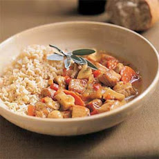 Maple Pork-and-Vegetable Stew