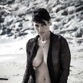 Walk by Christian Raducci - Nudes & Boudoir Artistic Nude ( glamour, sexy, girl, beautiful, glam, beach )
