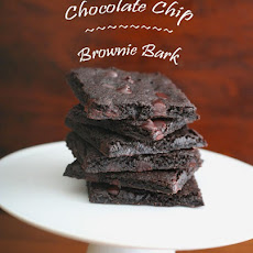 Chocolate Chip Brownie Bark – Low Carb and Gluten-Free