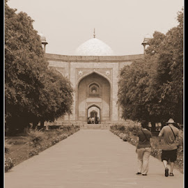A Walk To The Tomb by Rohan Gupta - Buildings & Architecture Statues & Monuments ( tomb, humayun tomb, monument, india, heritage, delhi )