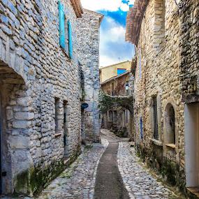 Street by Laurent Adien - City,  Street & Park  Street Scenes (  )