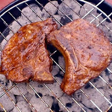 Marinated Spicy Pork Chops