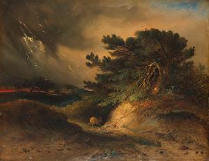 RIJKS: Johannes Tavenraat: The Thunderstorm 1843