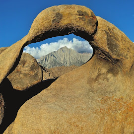 Small Arch Formation by Jim Downey - Landscapes Caves & Formations ( alabama hills, lone pine, arch, rock formation )