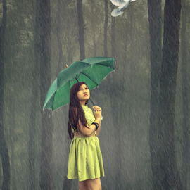 Rainy Heart by Mustang Salim - Digital Art People