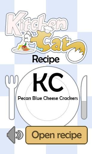 KC Pecan Blue Cheese Crackers