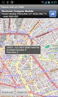 Screenshot of Find me a Velib