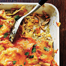 Spicy Chicken Enchilada Casserole