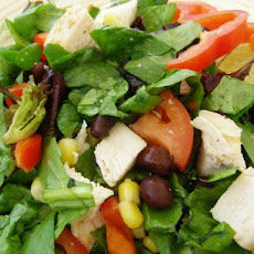 Black Bean, Corn & Chicken Salad