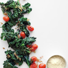 Sauteed Spinach and Tomatoes