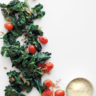 Sauteed Spinach And Cherry Tomatoes Recipes