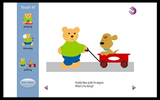 Screenshot of Autism and PDD Grammar Lite