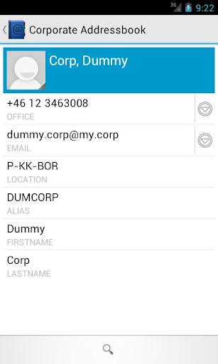 【免費通訊App】Corporate Addressbook-APP點子